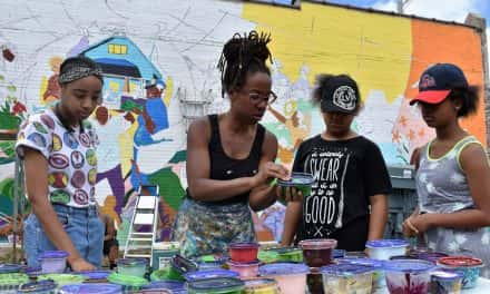 """Tia Richardson's mission for """"Sherman Park Rising"""" is bigger than a mural"""