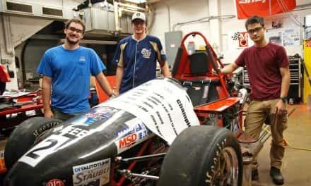 MSOE formula hybrid team racecar holds international speed record
