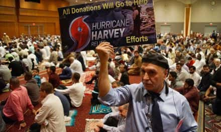Eid al-Adha brings prayers and support for victims of Hurricane Harvey