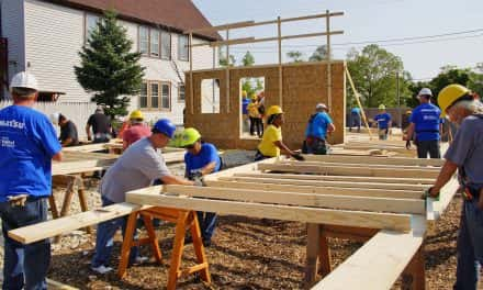 Photo Essay: Under construction with Habitat for Humanity