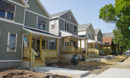 Completion of townhomes in Washington Park highlights efforts to address affordable housing