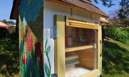 "Little Free Library's reading program to help bring ""Kids, Community & Cops"" together"