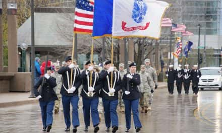 Online patriots too lazy to honor troops by actually attending Veterans Day Parade