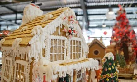 Gingerbread creations baked by MATC students on display at Public Market