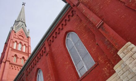 A quiet pitch begins to save the Big Red Church