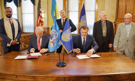 Milwaukee formalizes Sister City status with Ukraine's Irpin