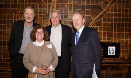 Norquist and Grunau among RiverWalk leaders celebrating the district's top global award