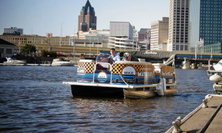 New water taxi service starts on the Milwaukee River