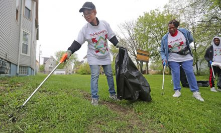 Residents join to make Harambee neighborhood healthier in massive 160 block cleanup