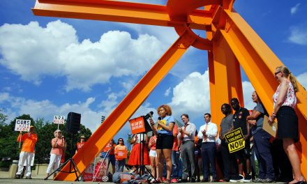 The day Milwaukee turned orange to help end gun violence