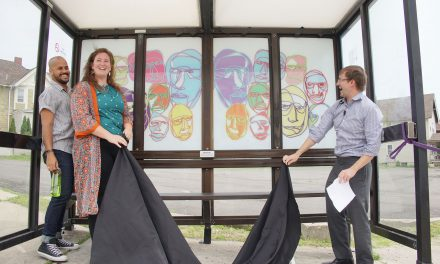 Design project helps local creatives bedazzle MCTS bus shelters with art