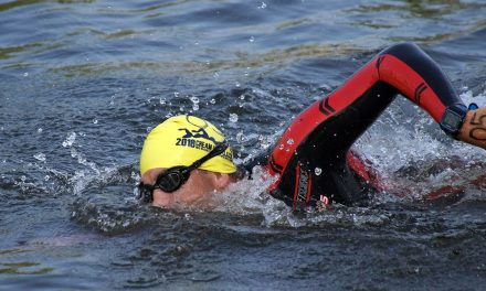 Master swimmers compete at first ever Milwaukee River race in Cream City Classic