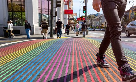 Civic project proposes rainbow crosswalks to honor LGBT heritage of Cathedral Square
