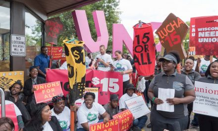 Milwaukee service workers seek higher wages to afford the costs of raising a family
