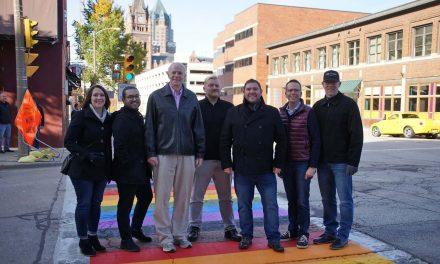 Rainbow crosswalks installed downtown to honor Milwaukee's LGBT community