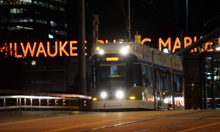 A map to food and drinks along Milwaukee's Streetcar route