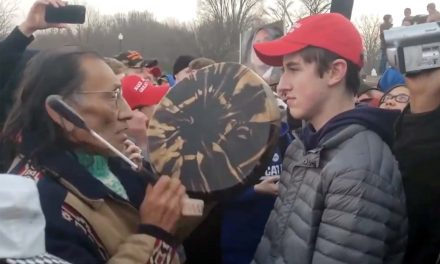 Nathan Phillips: Why does the Elder beat the drum?