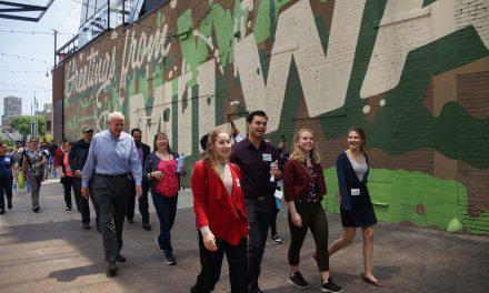 Mayor Tom Barrett kicks off Walk 100 Miles in 100 Days Challenge for a healthier 2019