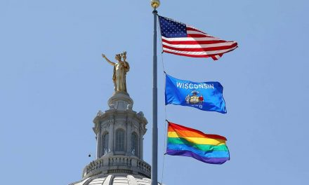 Pride flag raised at Wisconsin State Capitol for third year to recognize contributions by LGBTQ+ community