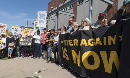 Milwaukee ICE Office shut down for a day by Jewish-led #NeverAgain civil disobedience