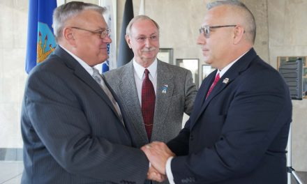 Changing of the Guard: Dan Buttery becomes 4th leader of War Memorial Center