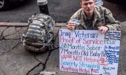 An Urban Battlefield: The untold struggle of homeless veteran families