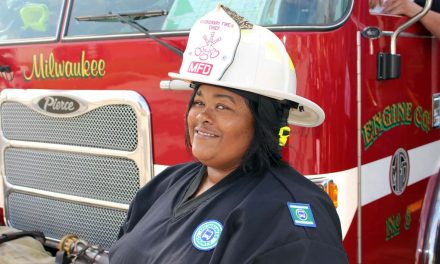 MCTS bus driver honored during Fire Prevention Week for saving residents from a burning apartment