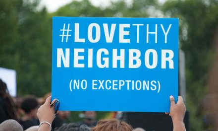 Being opposed to hatred is not hateful behavior because love is still the greatest weapon