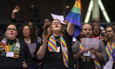 God in a Box: The Gay Rights dispute has finally pulled the United Methodist Church apart