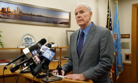 Mayor Tom Barrett says Milwaukee's Stay at Home order remains in place to keep public safe