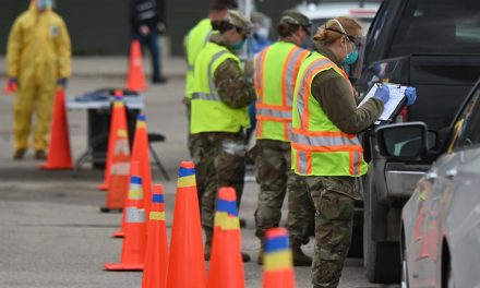 State leaders urge Trump to continue funding the Wisconsin National Guard's COVID-19 assistance