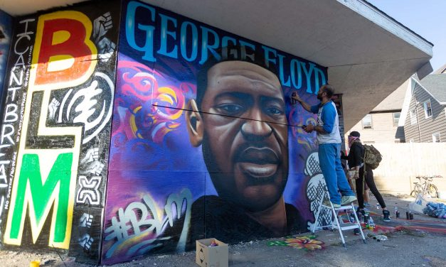 George Floyd Memorial Mural: Artists unite to inspire change for communities of color in Milwaukee