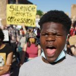 Peaceful protest for George Floyd marches into Wauwatosa as racial equality movement grows