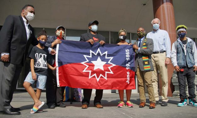 Juneteenth Flag: Historic symbol of Black liberation from slavery flown at City Hall Complex for first time