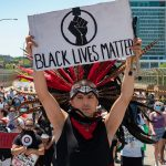 Brown People for Black Power: Latino group marches in solidarity with BLM across James Groppi Bridge