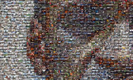 Almost 2,000 images from 12 Milwaukee protest events used to make photo mosaic honoring George Floyd