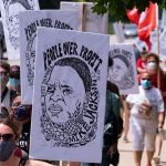 Marchers condemn Briggs & Stratton for giving millions to executives as Mike Jackson worked to death