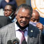 "Jesse Jackson condemns Kenosha's ""system of racism in law enforcement"" during visit to city"