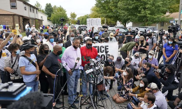 Pushing forward with healing: Family of Jacob Blake host community block party to register voters