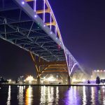 Night Lights: Hoan Bridge officially begins illumination along the lakefront every evening