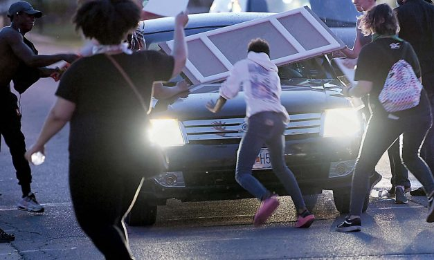 Rise of vehicular-based terror attacks on peaceful protesters marks new trend in America's civil unrest