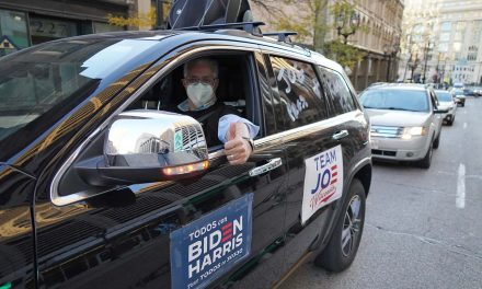 Ridin' with Biden: Milwaukee voters celebrate election victory with car rally across city