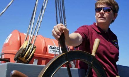 Tiffany Krihwan: Longtime S/V Denis Sullivan captain departs Milwaukee to command 127-year-old Schooner