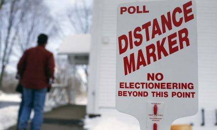 Kidnapped voters and self-printed ballots are why there are laws regulating behavior at polling places