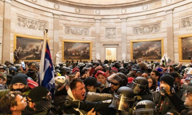 U.S. Capitol police were caught off-guard even though domestic terrorists had made violent intentions clear