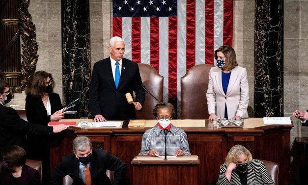 Democracy Prevails: Congress certifies President-elect Joe Biden's decisive 306-232 Electoral College win