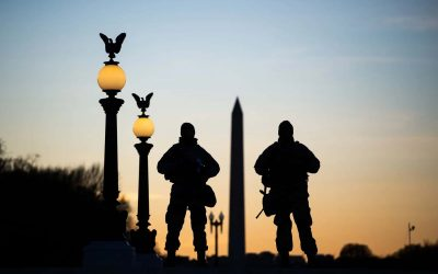 Wisconsin National Guard troops helped ensure safety in Washington DC during presidential inauguration