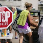 Hunger Relief: How food banks help families who are struggling under the pandemic get enough to eat