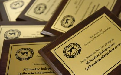 Milwaukee Independent recognized for excellence in visual journalism as finalist for 10 Press Club awards