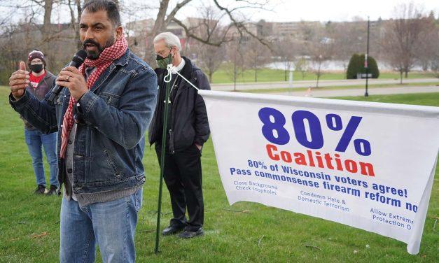 80% Coalition renews call for legislation to prevent gun violence in wake of Kenosha mass shooting